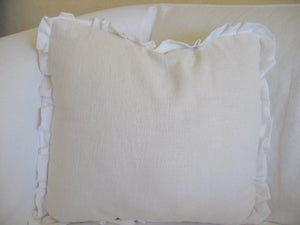 "Image of The ""Caterina"" Ruffle Pillow"