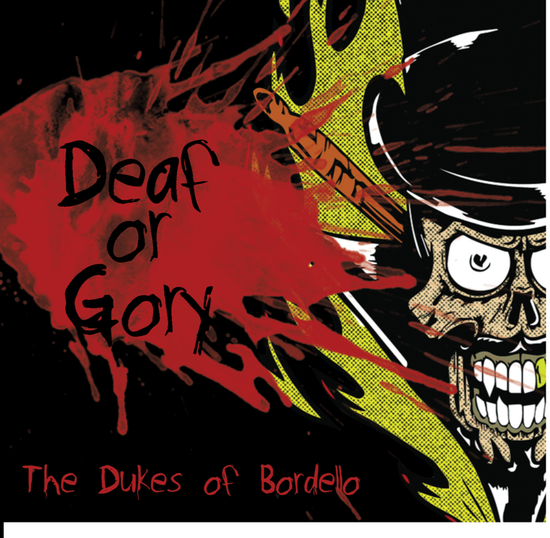"Image of ""Deaf or Gory"" 4 track EP on CD"