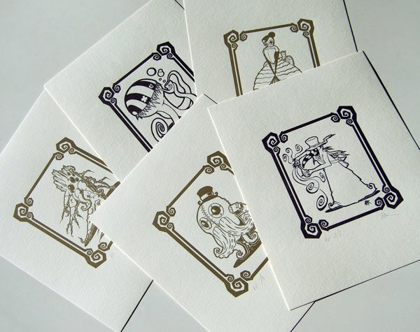 Image of Letterpressed Prints *FREE SHIPPING*