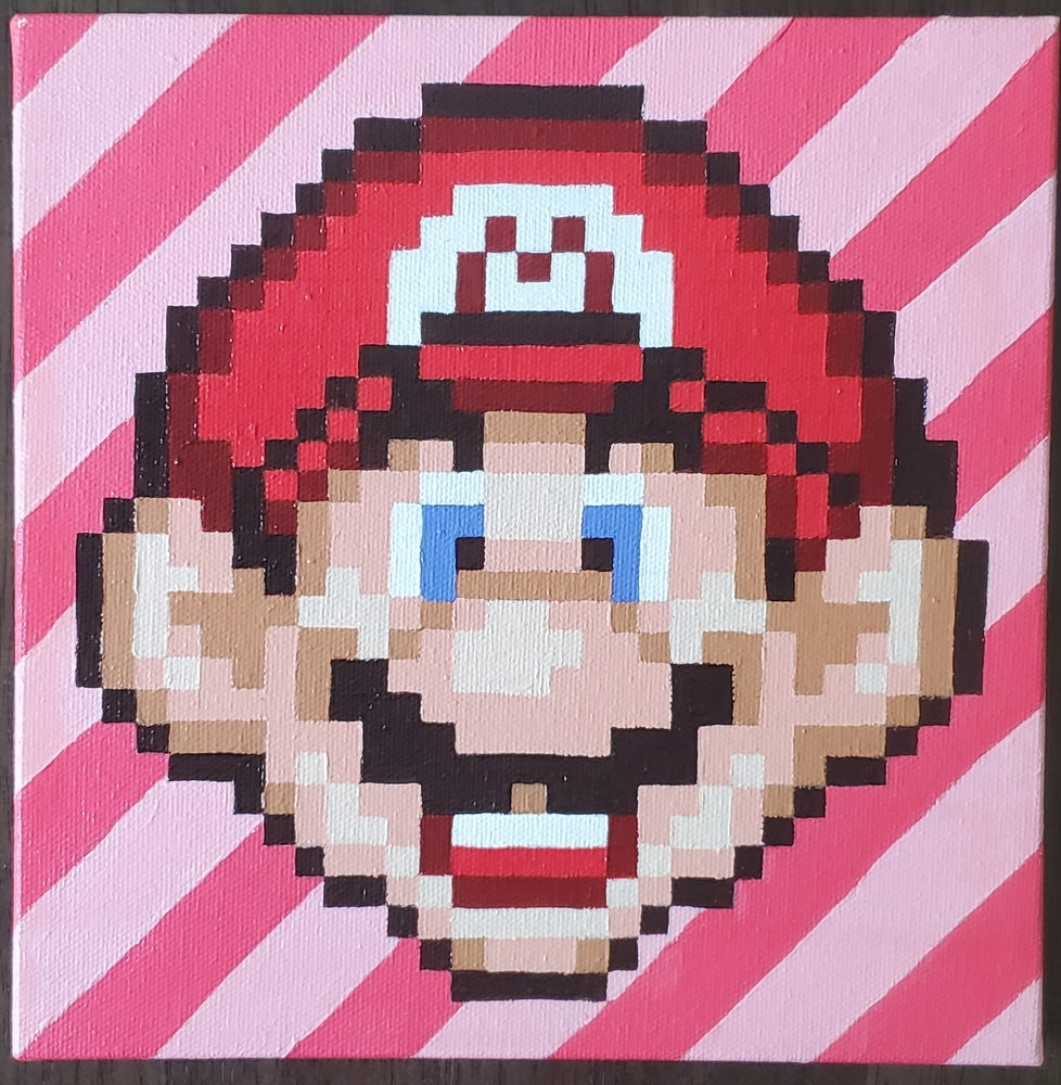 Image of Mario head