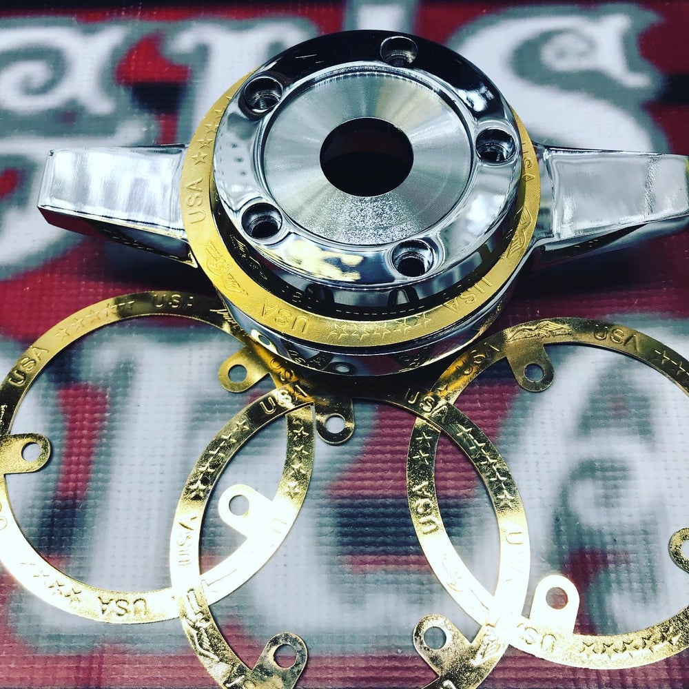 Image of Gold Zenith rings set