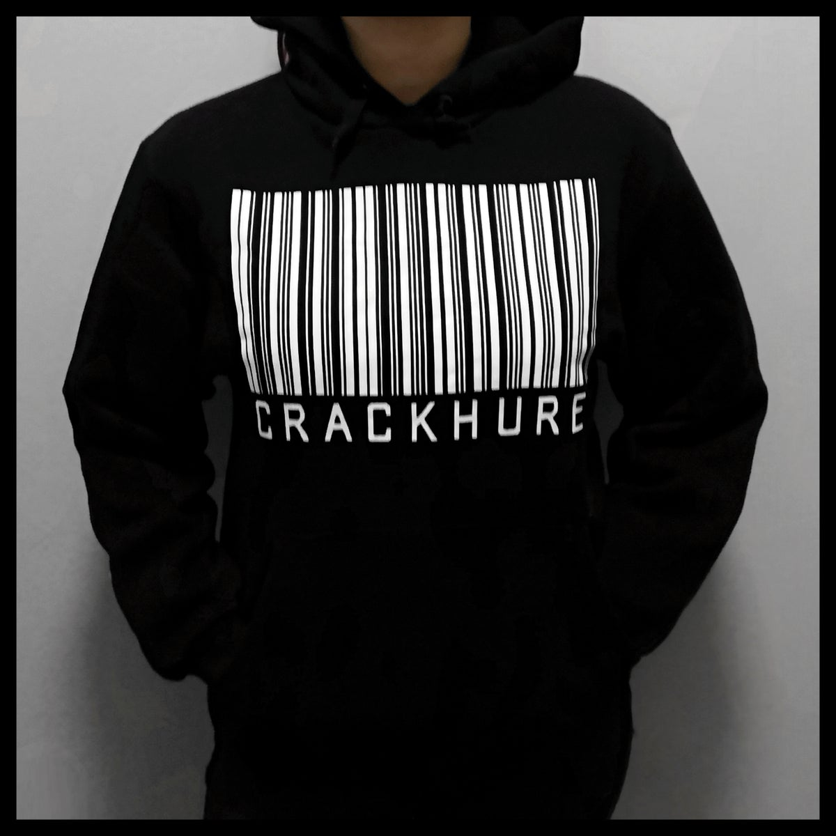 Hoodie - Barcode schwarz