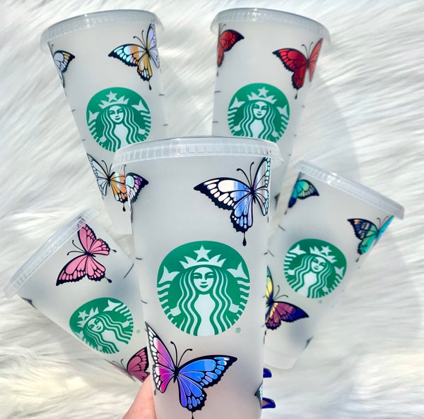 Image of Butterfly Cold Cup