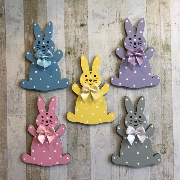 Image of Bunny Decoration (front)