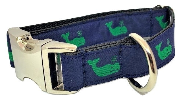 Green Whale - Navy