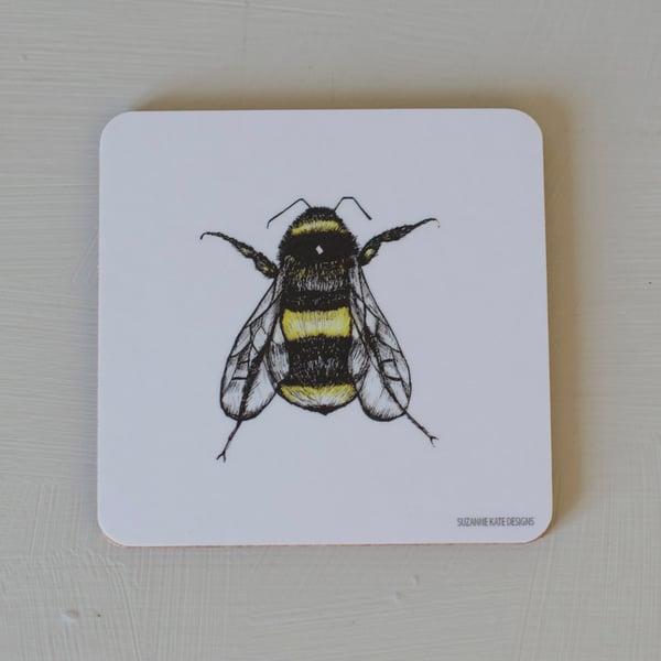 Image of Large bee coaster