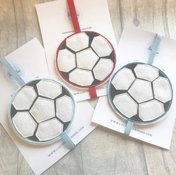 Image of Football bookmarks