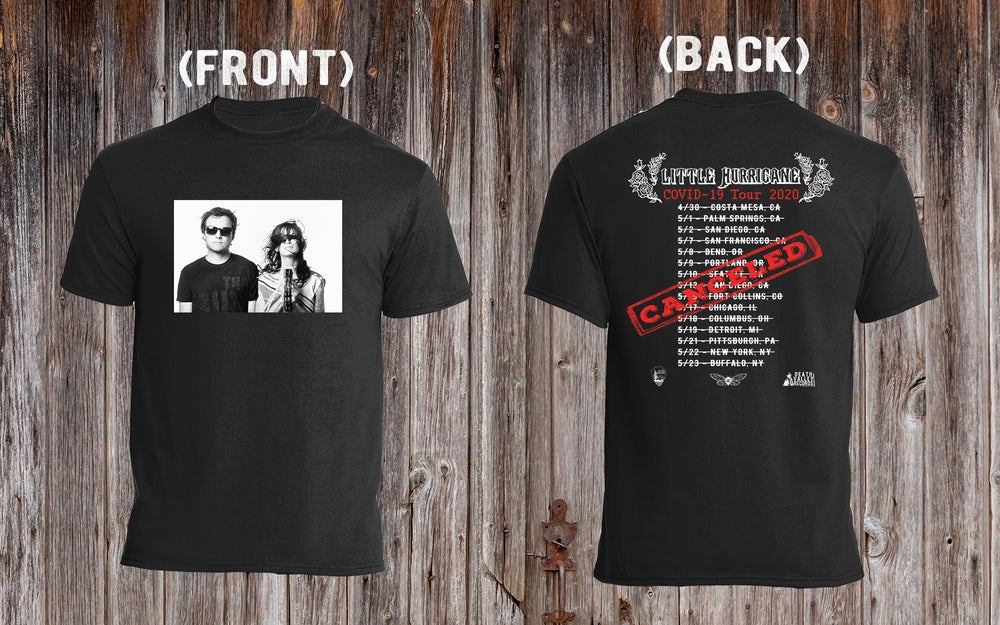 Image of Covid-19 Canceled Tour T-shirt (free domestic shipping!)