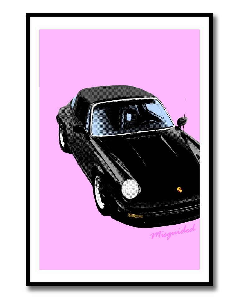 Image of Targa Pop Art Print