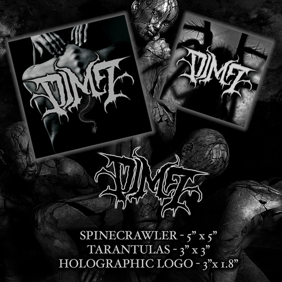 Image of DIM7 - 3 STICKER SET