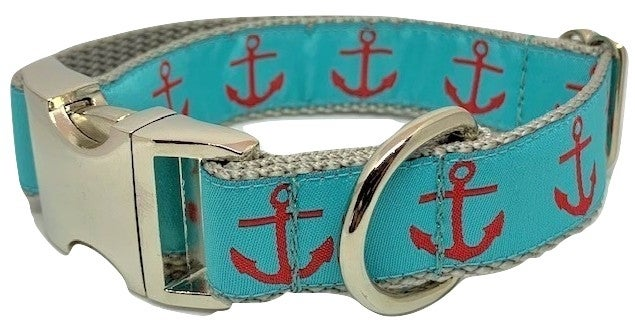 Anchor Red/Turquoise