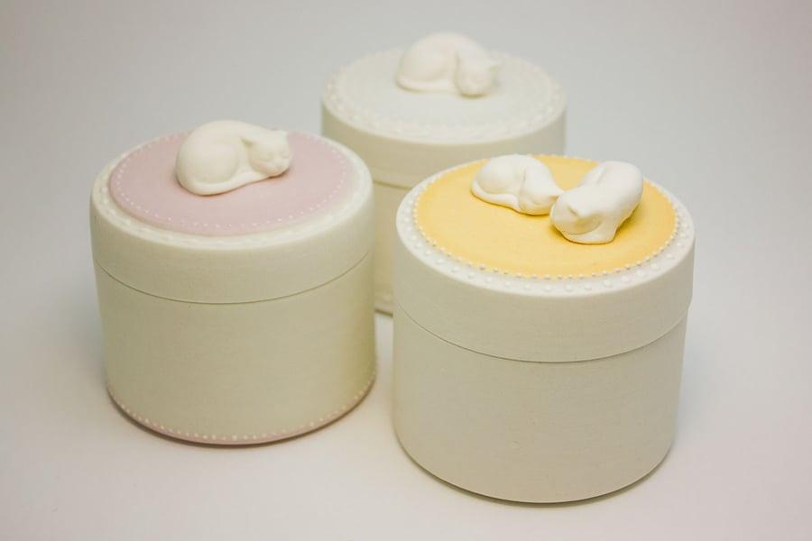 Image of Pearl Keepsake Jar - Ready To Ship