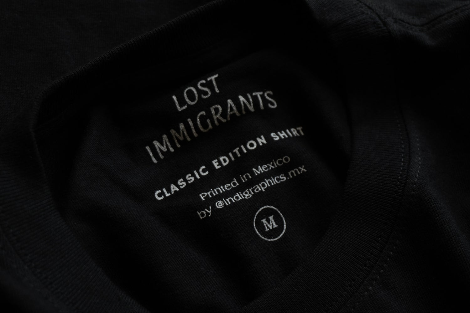Image of Black Classic Tee (MEX)
