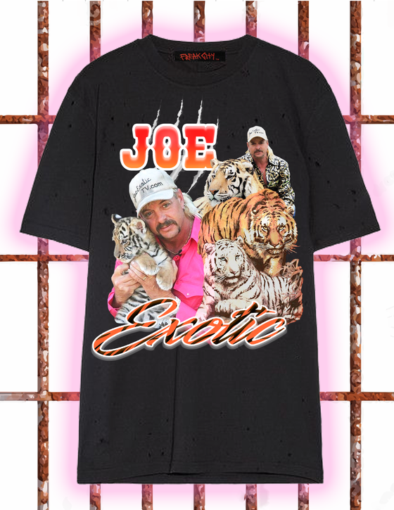 Image of Free joe exotic t shirt