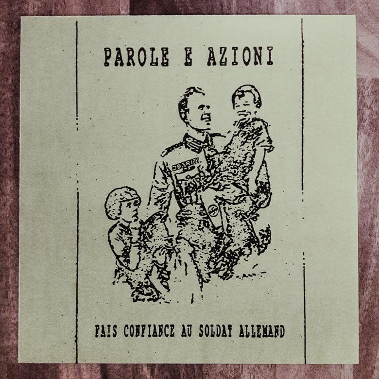 Image of Parole e azioni - Fais confiance au soldat allemand (12'')
