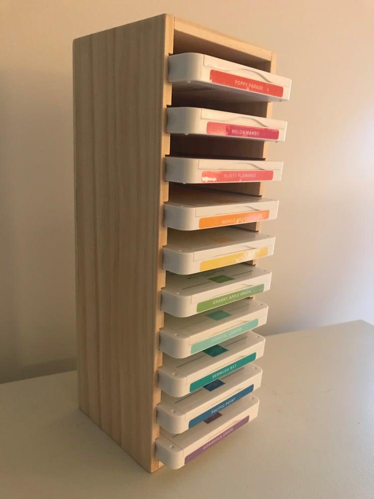 Image of Ink Pad Storage Tower--10 ink pads