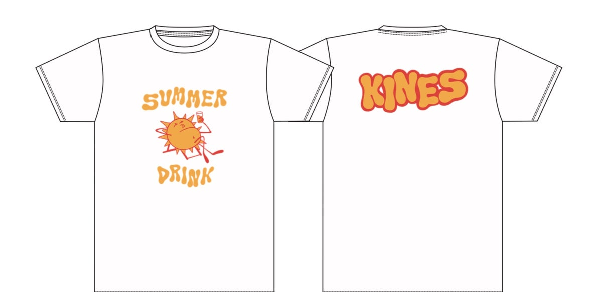 Summer drink shirt (white)