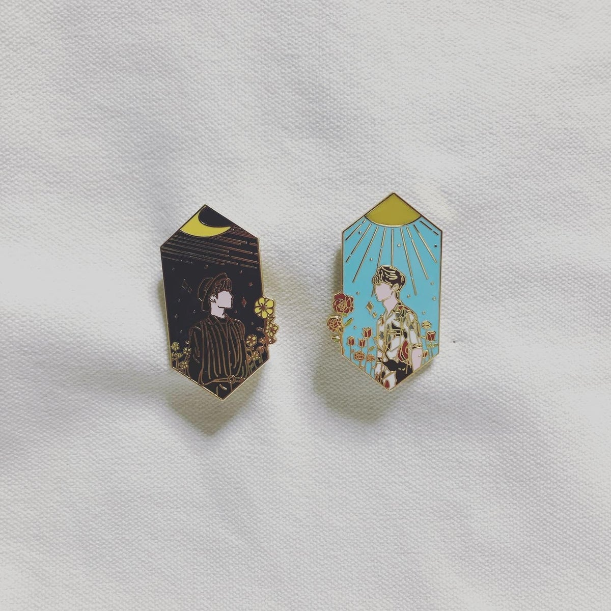 [Instock] Blooming With You Series Enamel Pin