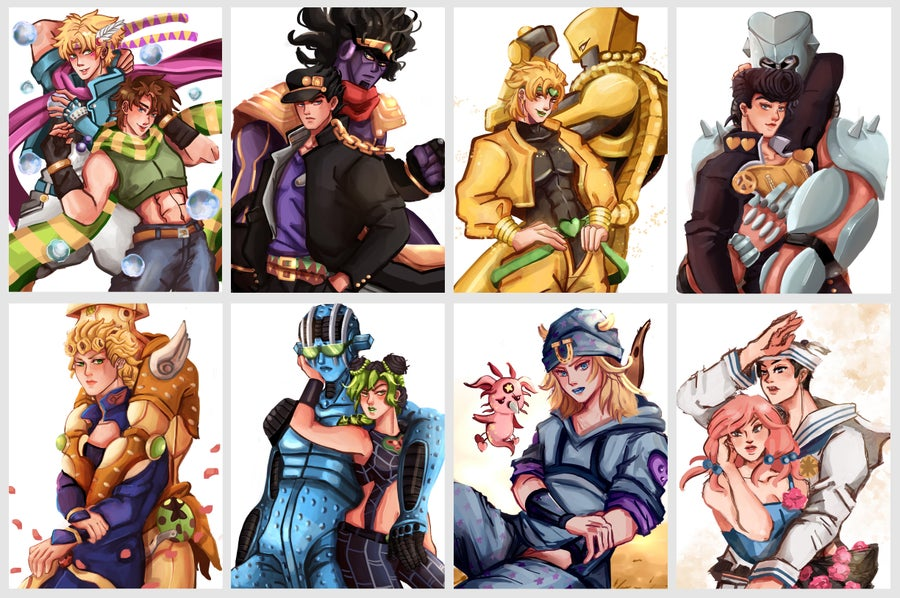 Image of JJBA/ Jojo's Bizarre Adventure Prints