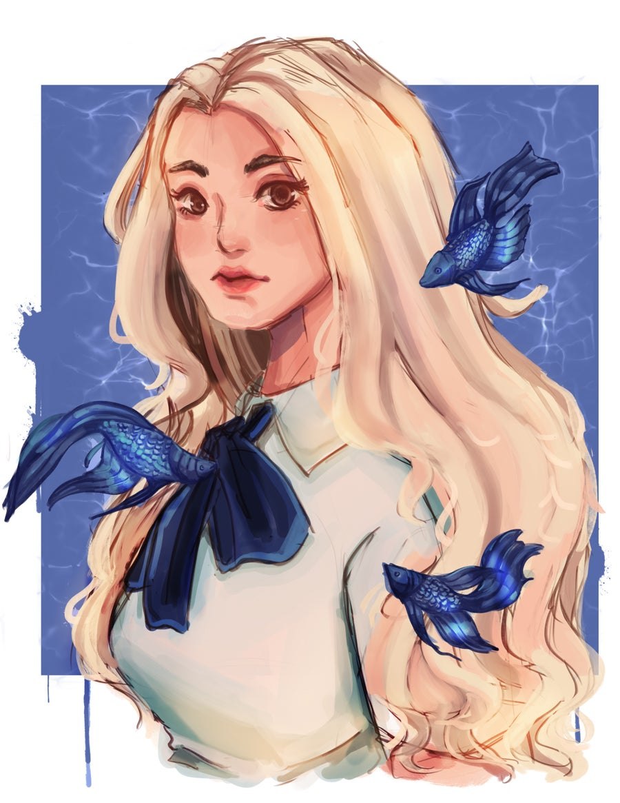 Image of Loona Jinsoul Print