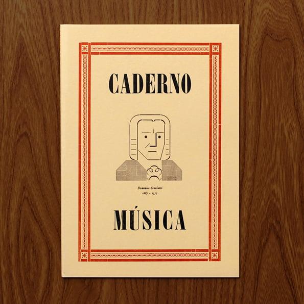 Image of Music notebook - Domenico Scarlatti (1685-1757)