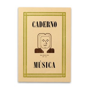 Image of Music Notebook - Johann Sebastian Bach (1685-1750)
