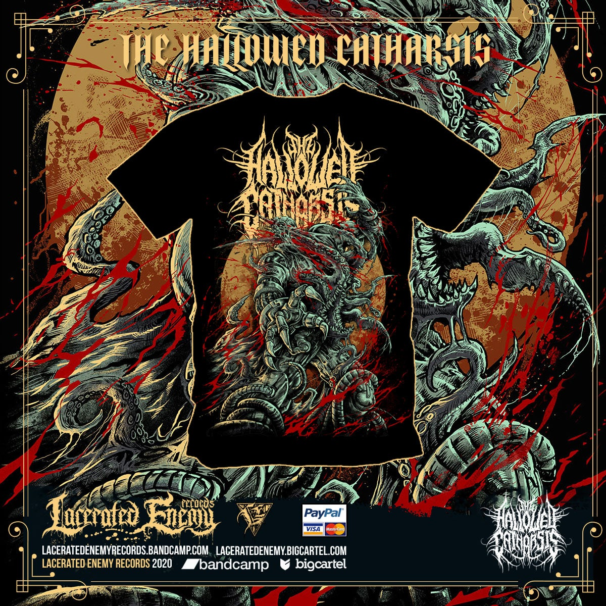 THE HALLOWED CATHARSIS - Forced Mutation TS