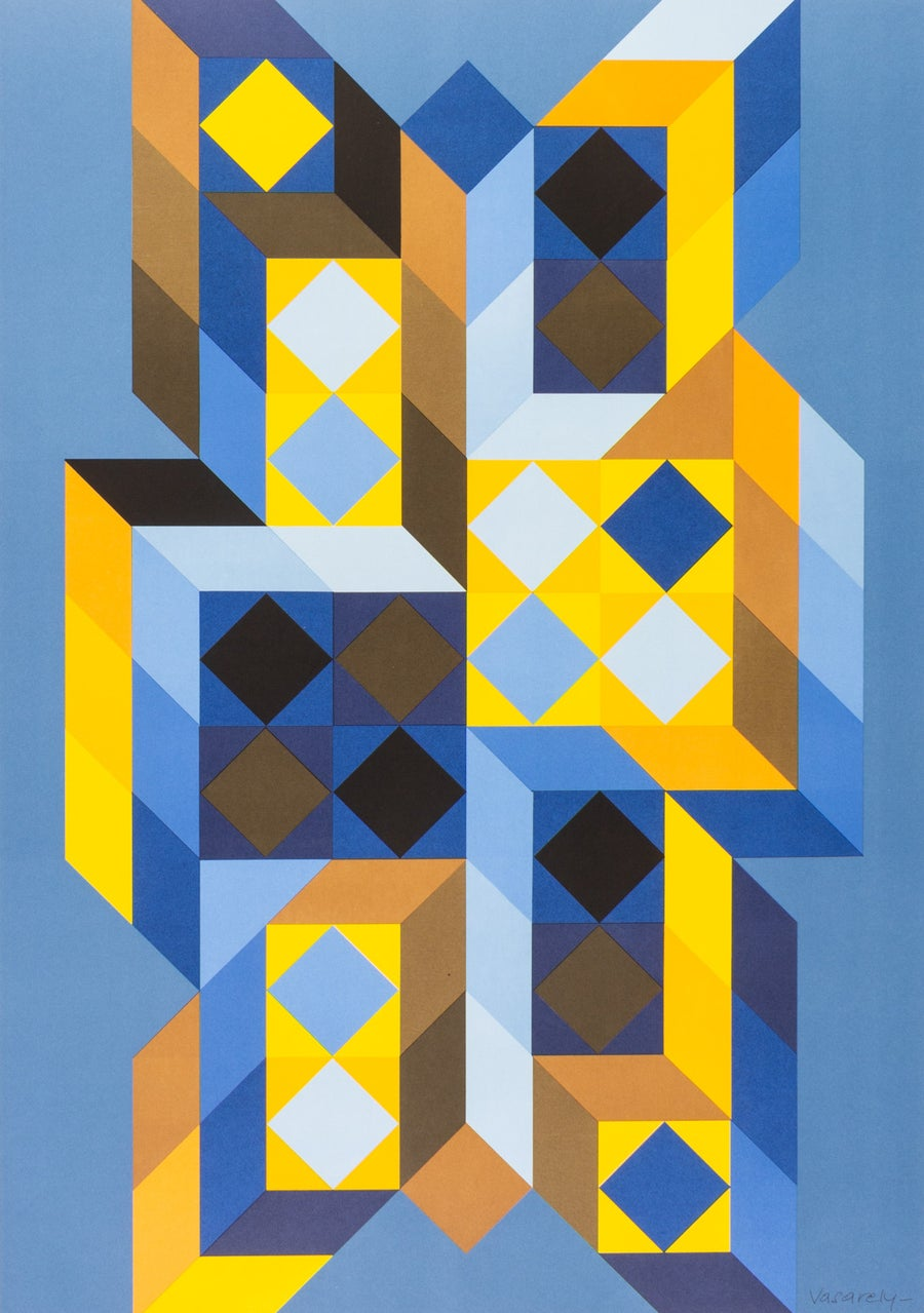 Image of Victor Vasarely, Tridimor, 1969