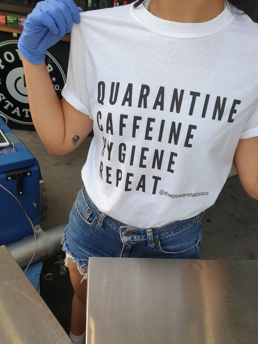 Image of Quarantine Caffeine Hygiene Repeat