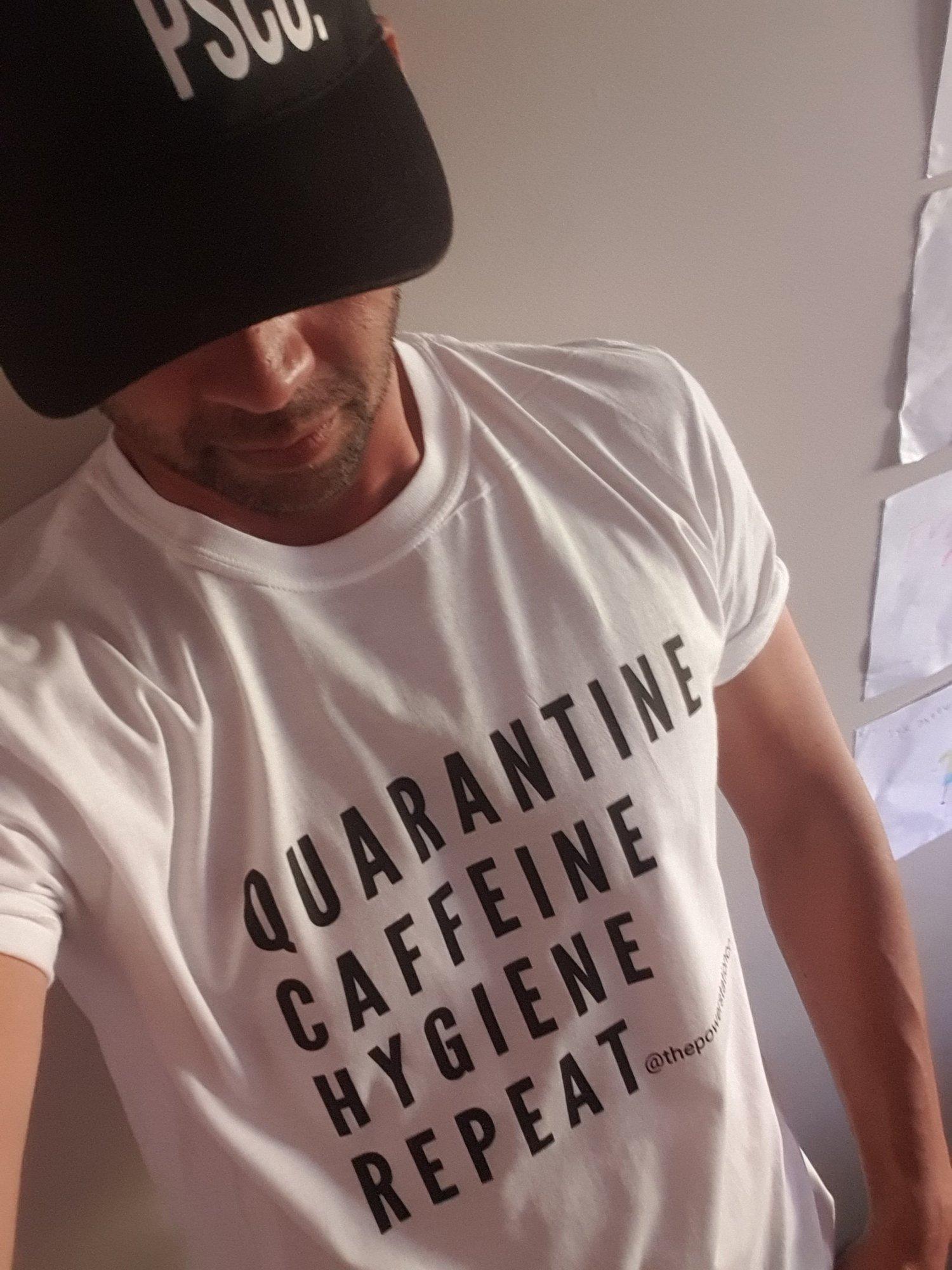 Image of Quarantine Caffeine Hygiene Repeat