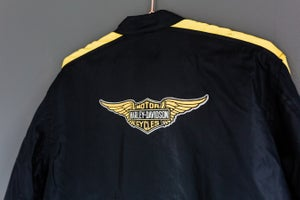 Image of Vintage 90's Harley Davidson Motorcycle - Women's Riding Jacket