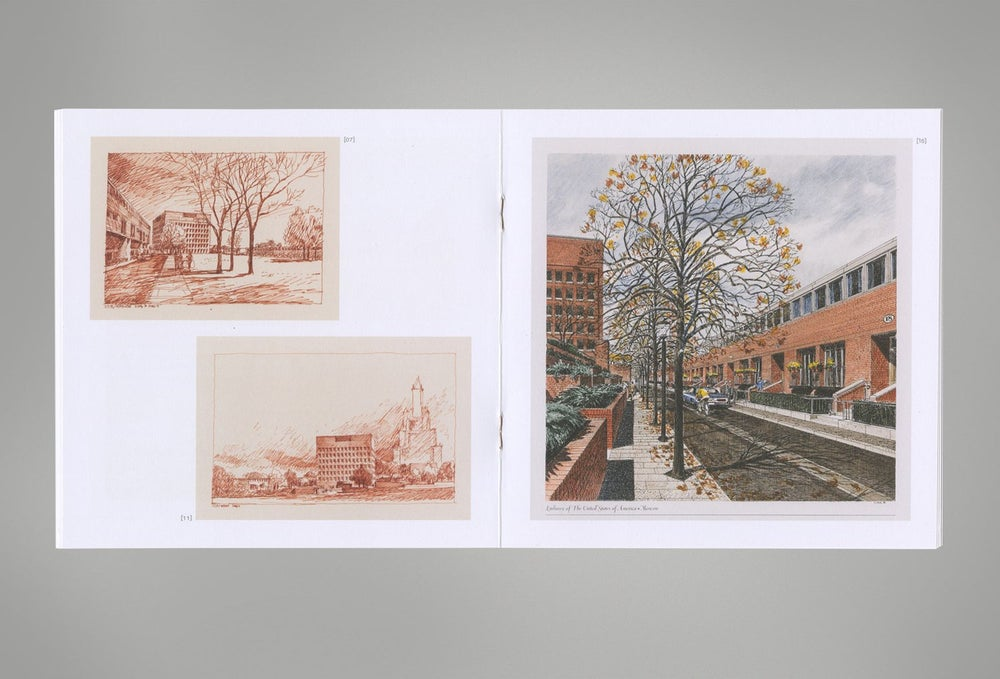 Image of Off Location: Drawings for the U.S. Embassy Moscow