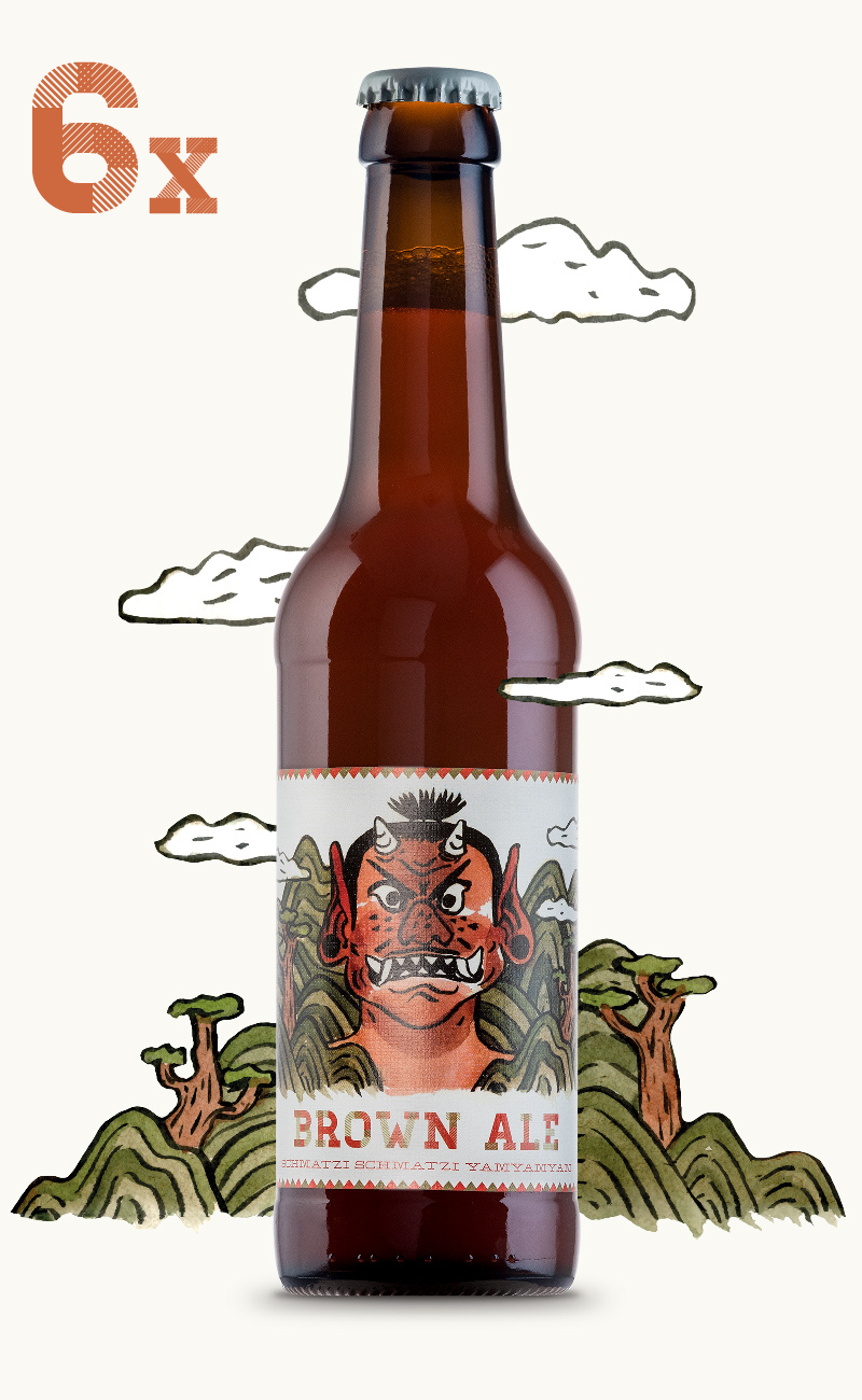 Image of Brown Ale - 6 Flaschen