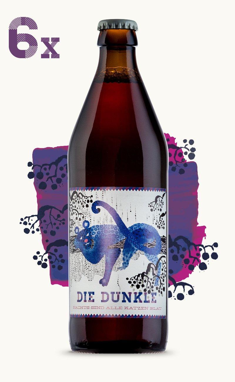 Image of Die Dunkle - 6 Flaschen