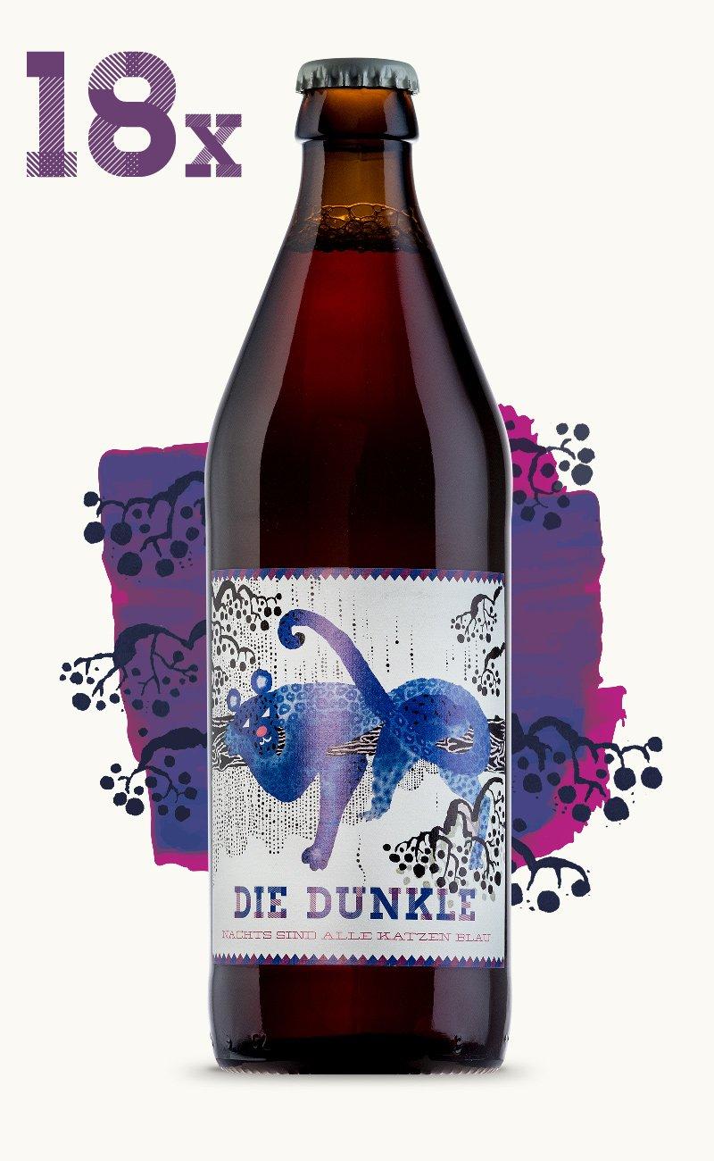 Image of Die Dunkle - 18 Flaschen