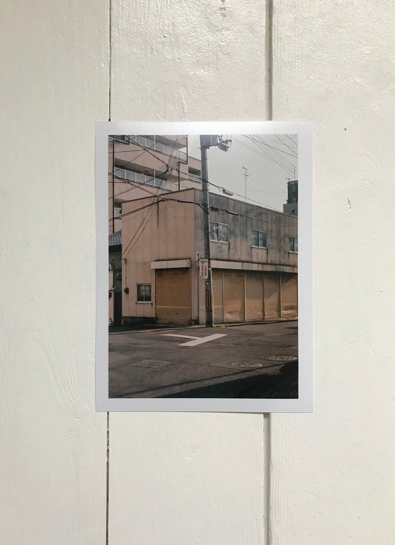 "Image of 6x8"" Japan street print"