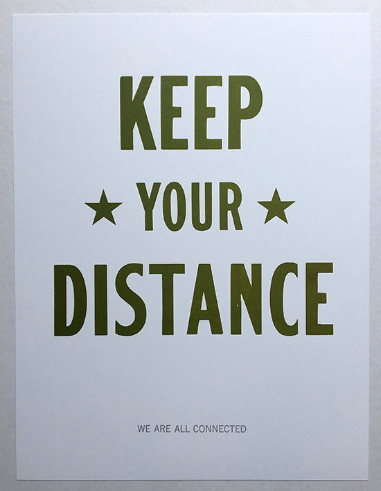 Image of Keep Your Distance
