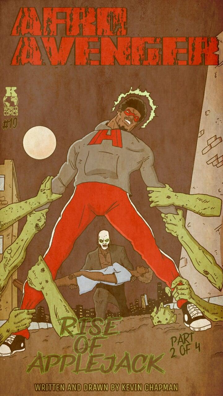 Image of Afro Avenger Issue 10