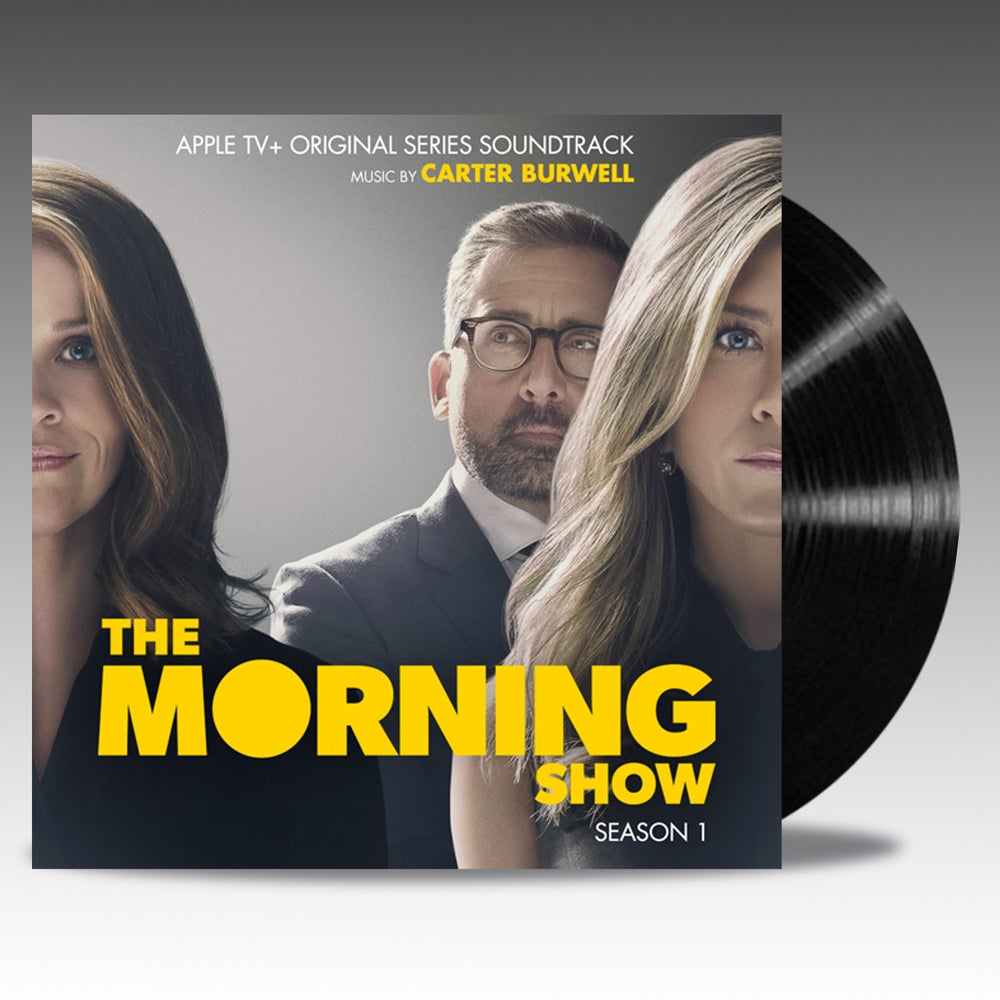Image of The Morning Show Apple TV+ Original Series Soundtrack 'Classic Black Vinyl' - Carter Burwell