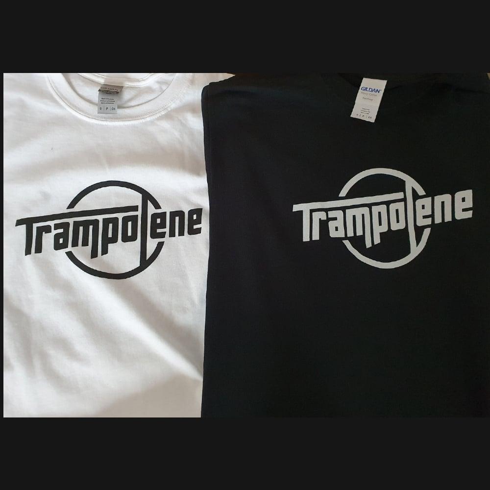 Image of TRAMPOLENE round logo t-shirt