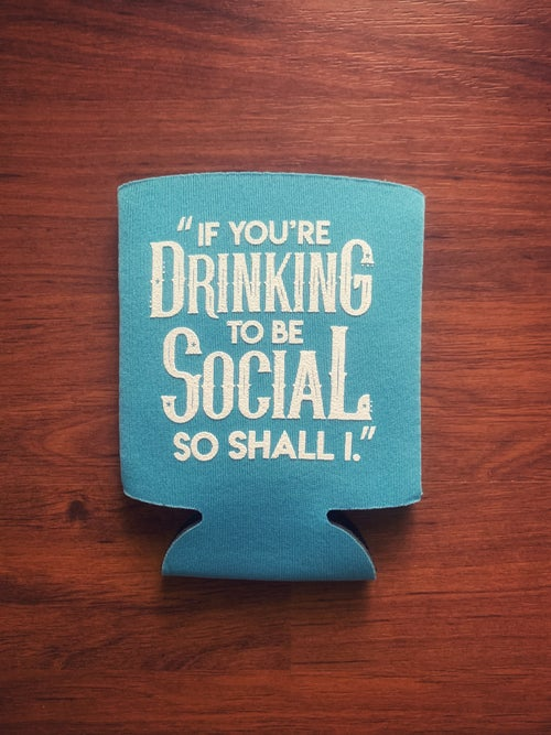 Image of Social Drinker Koozie