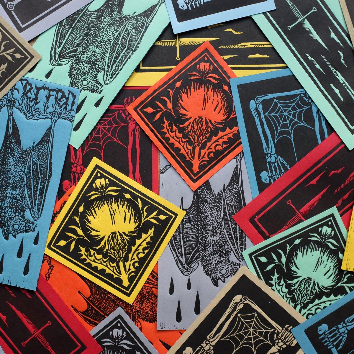 Image of MINI PRINTS #1 <br>(Linocut prints)