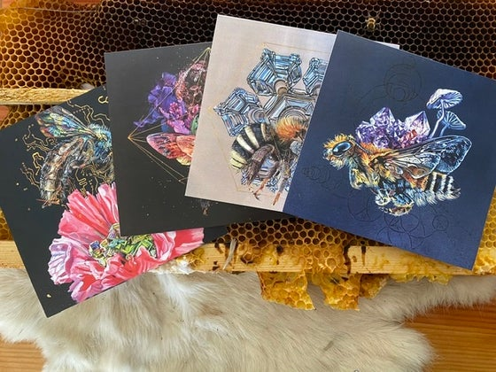 Image of Bee Notecards