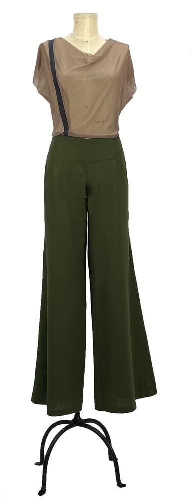Image of Aquafina pants olive