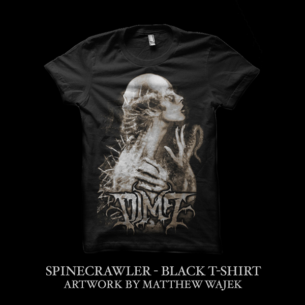 Image of DIM7 - SPINECRAWLER - T-Shirt