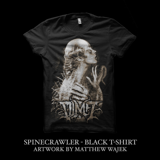 Image of DIM7 - SPINECRAWLER - T-Shirt