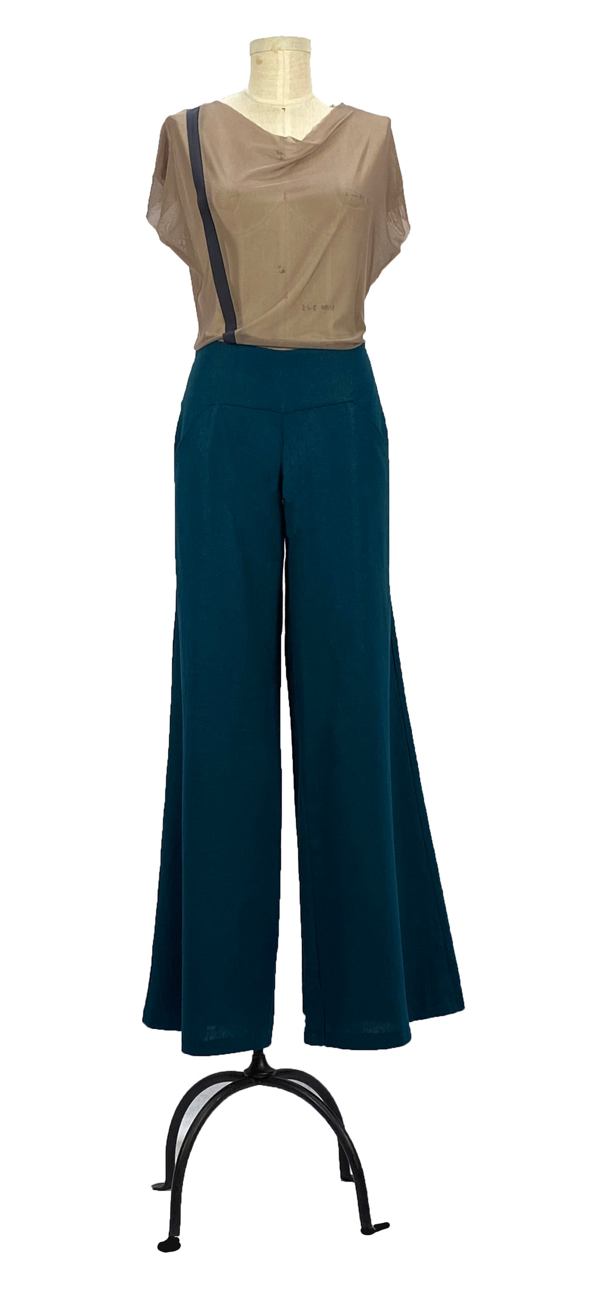 Image of Aquafina pants teal