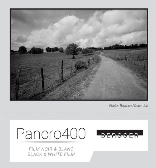 Image of Bergger Pancro 400 BW Film (various sizes)