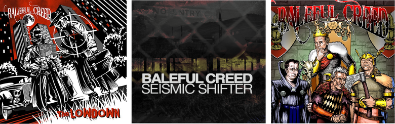 Image of Baleful Creed - Compact Discs (CD Studio Albums)