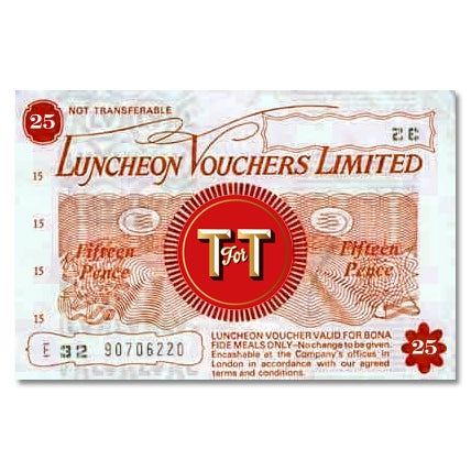 Terry's Luncheon Voucher